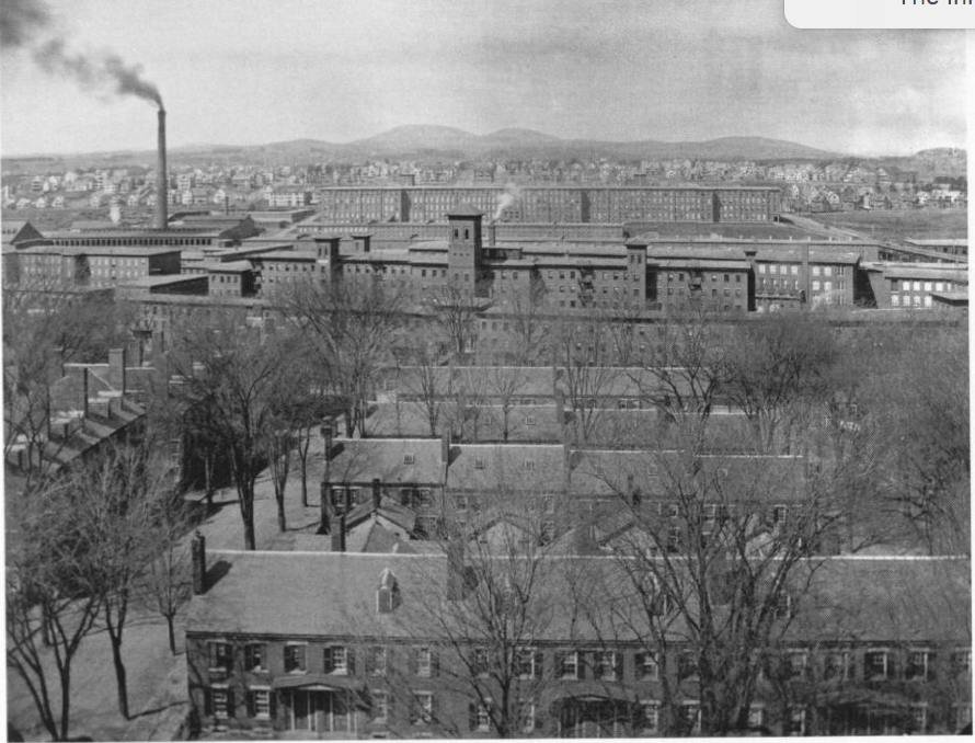 Amoskeag Manufacturing Company Tenements